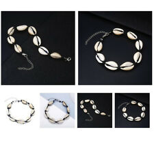 Bracelet Boho Beach Foot Jewellery Gift Natural Sea Shell Anklet Cord Charm
