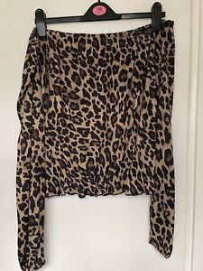 Ladies H&M Off The Shoulder Top Size XL 18