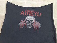 ATREYU Altered Into TUBE TOP From T-SHIRT Ladies XL/XXL Curse Of Band Skull DIY