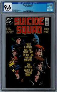 SUICIDE SQUAD (1987 Series) #1 - CGC Graded 9.6