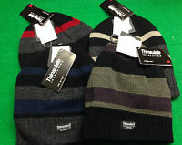 THINSULATE INSULATION WINTER BEANIE HAT, FLEECE LINED, KNITTED WOOL HATS,RRP £15