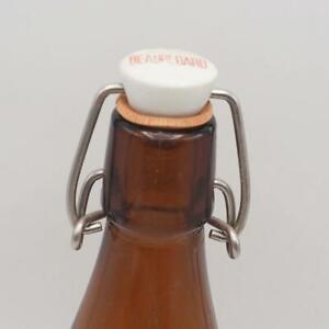 Vintage Beer Bottle Beauregard Biere Porcelain Stopper