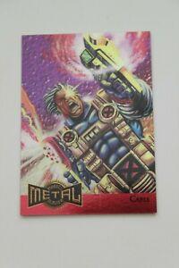 1995 Fleer Metal Marvel Cable Metal Blaster # 1 of 18