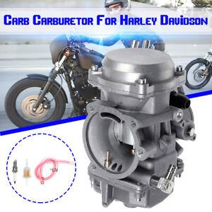 40mm Carb Carburetor & Filter For Harley Davidson Softail Dyna & FXR Sportster