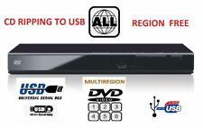 Panasonic DVD-S700  ALL Region 0 1 2 3 4 5  Multi format HD 1080 DVD Player NEW