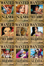 One Piece WANTED Posters PACK (A3: 27 x 41) - PIRATE GIRLS
