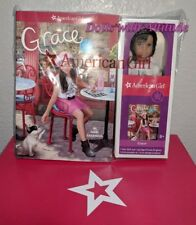 American Girl MINI Grace Doll NEW IN BOX AND 3 Book Set three books