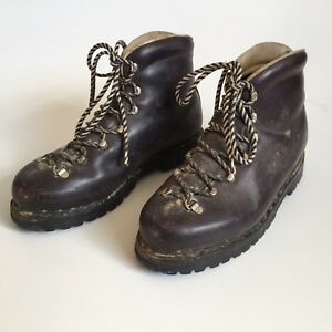 Vintage MUNARI Italy for REI Hiking Boots Leather Women's 8.5, Men's 7.5