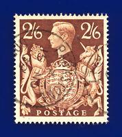 1939 SG476 2s6d Brown Q29 Parkstone Dorset CDS 15 NO 39 Fine Used Cat £8 ddpk