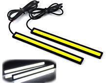 2xWaterproof 12V LED COB Car Auto DRL Driving Daytime Running Lamp Fog Lights SH