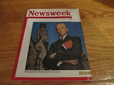 VINTAGE JUNE 11 1951 NEWSWEEK MAGAZINE Yale University President Griswold Cover