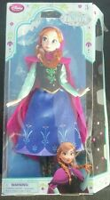 Authentic Disney Store Frozen princess Anna Classic doll imperfect packaging