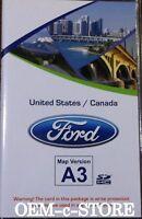 2011 2012 2013  Ford Explorer EDGE MyFord Navigation SD CARD Map A3