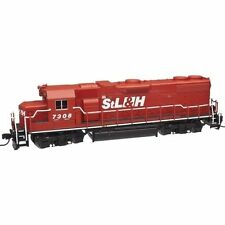 Red N Scale Model Trains
