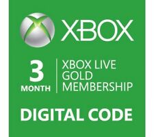 Xbox Live 3 Month Gold (Serious Buyers Only, account theives fμ©k off)