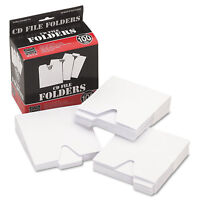 Vaultz CD File Folders 100/Pack VZ01096