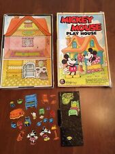 Vintage ColorForms Mickey Mouse Playhouse Toy