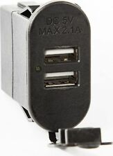 Rugged Ridge Dual USB Rocker Switch 17235.05 Black