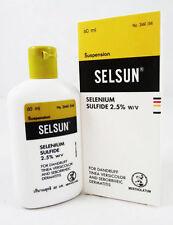 60ml/2oz SELSUN ANTI-DANDRUFF TREATMENT SHAMPOO SELENIUM SULFIDE 2.5% DERMATITIS
