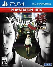 PLAYSTATION 4 PS4 VIDEO GAME YAKUZA KIWAMI BRAND NEW AND SEALED