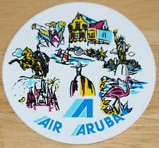Air Aruba Airline Sticker