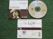 LA LUPE **Grandes Mitos del Siglo XX** BEST ORIGINAL 2000 Spain CD TITO PUENTE