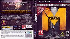 Metro : Last Light Limited Edition - PS3 - Playstation 3