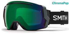 NEW Smith I/O7 Goggles-Black-Green Chromapop+Storm Lens-SAME DAY SHIPPING!