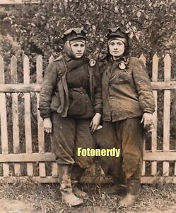 *Russian Women* Vintage Soviet Russian Photo Women Miners Mine Workers  r7