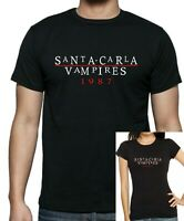 Mens + Womens 80's Retro Vampire LOST BOYS 'Santa Carla Vampires' T-shirt