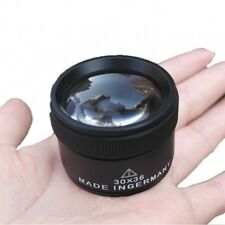 Magnifying Glass Lens Small Portable Loupe Microscope Jewels Coins Stamps Watch