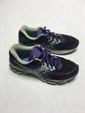 ASICS GEL-Nimbus 17  Women's Size 7.5 - T557N Black/Purple/Mint