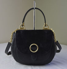Michael Kors Black Isadore Medium Messenger Crossbody
