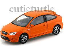 "4.5"" Welly Ford Focus Diecast Toy Car Orange"