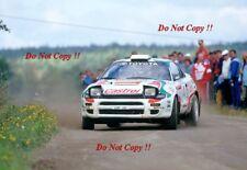 Juha Kankkunen Toyota Celica Turbo 4WD 1000 Lakes Rally 1993 Photograph 2