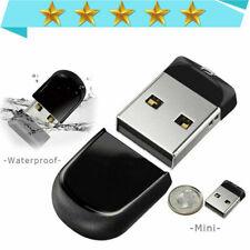 Thumb Drive Pendrive USB2.0 Memory Stick Flash Drive Mini 1MB-64GB Black lot-