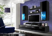 Modern Wall Unit Tv Display Living Room Unit High Gloss Furniture Mini Free P&P
