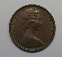 1968 Australia Two Cent 2c - Circulated Vintage coin (KC132.3)