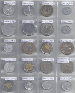 Lot Münzen Europa West 1952 -98 Vatikan Gibraltar Ile of Man Guernsey