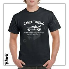 1a614b2d Camel Towing Funny T Shirt Adult Humor Rude Gift Tee Shirt Tow Truck Unisex  Tee