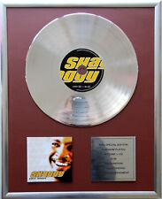 "Shaggy Hot Shot CD,Cover + 12 "" Vinyl goldene /platin Schallplatte"