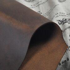 Scrap genuine leather about 2mm piece cowhide vintage 8.7 * 14.1 inch shape YT08