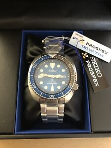 Seiko Prospex Turtle Save The Ocean Special Edition Shark Automatic Divers Watch