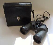 Swift Belmont De Lux Binoculars 12x50 Wide field with Case Great Condition #497