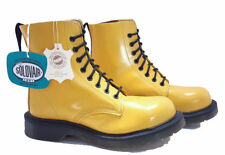 💥 Solovair Dr. Martens England Doc Limited Edition Yellow Boots UK 5 US 7 💥
