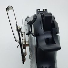 Beretta 92/96 Series Pistols 92F, 92FS, M9, 96 Gold Nickel Clip Holster Gold Pla