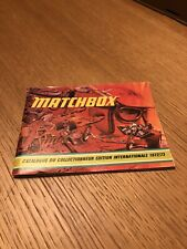 MATCHBOX CATALOGO ORIGINALE MODELLINI 1972/73 (FRANCESE)