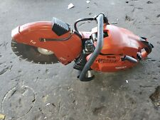 """Hilti 14"""" Concrete Saw Dsh 900-X Gas Powered Power Cutter Cut Off Low Hours!"""