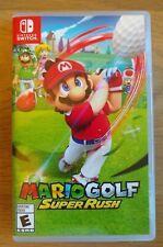 BOX ONLY - Mario Golf Super Rush Nintendo Switch