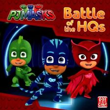 PJ Masks Story Book - BATTLE OF THE HQS -  NEW